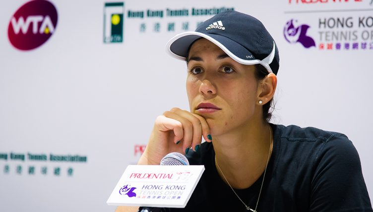 Garbine Muguruza press conference