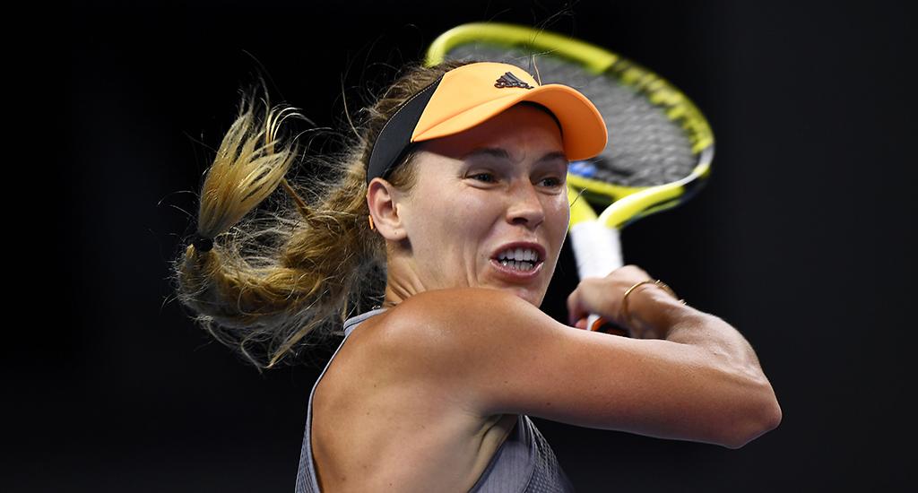 Caroline Wozniacki at China Open