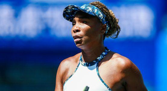 Venus Williams struggling in China