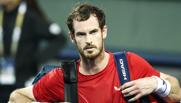 Andy Murray angry at Shanghai Masters