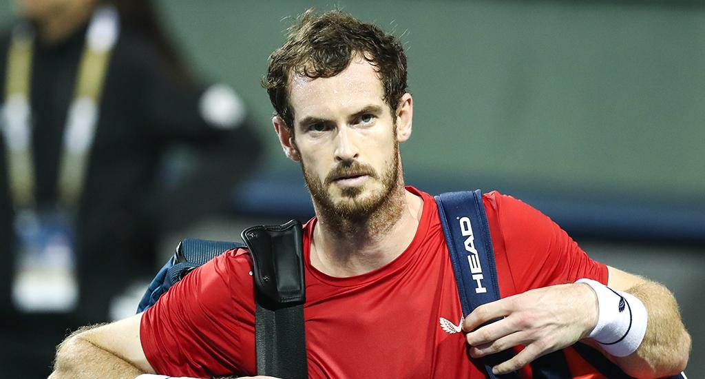 Andy Murray angry at Shanghai Masters