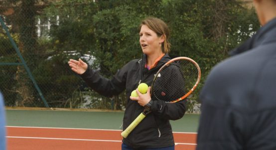 Ladies' Wellbeing and Tots tennis programme