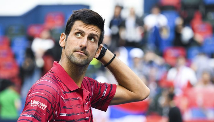 Novak Djokovic disappointed