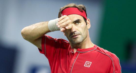 Roger Federer relieved