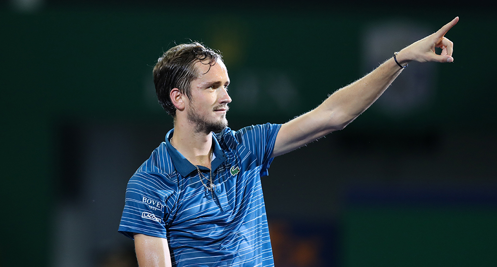 Daniil Medvedev on the rise