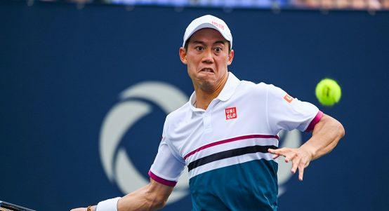 Kei Nishikori forehand
