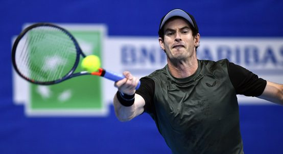 Andy Murray at European Open