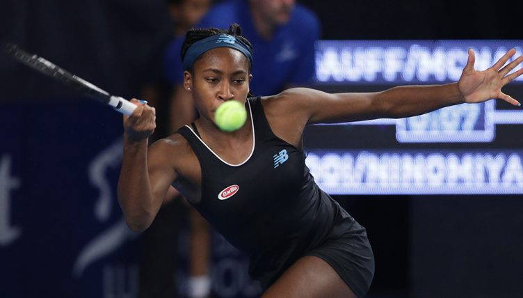 Coco Gauff in Luxembourg