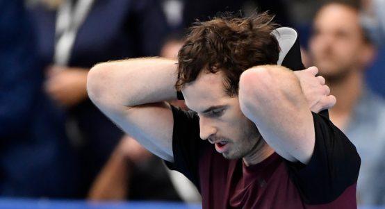 Andy Murray disbelief