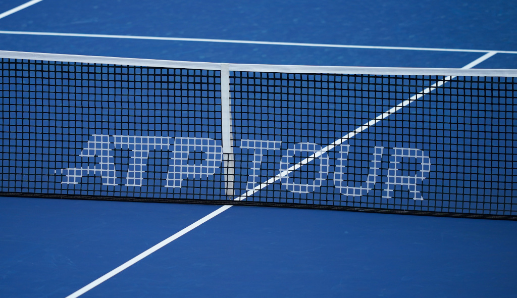 ATP Tour sign / logo