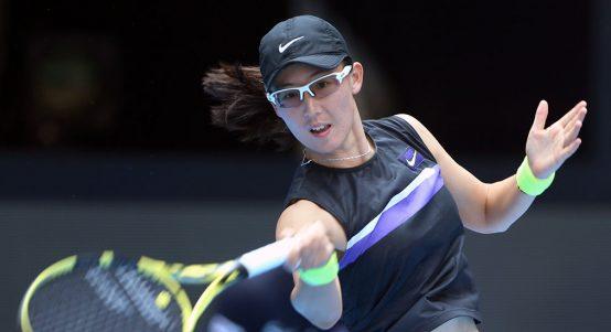 Zheng Saisai - impressing at WTA Elite Trophy