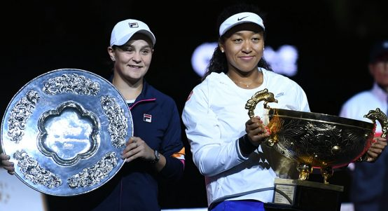 WTA stars Naomi Osaka and Ashleigh Barty