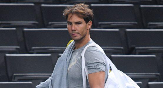 Rafael Nadal ahead of the Paris Masters