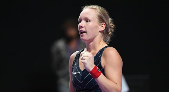 Kiki Bertens at WTA Finals