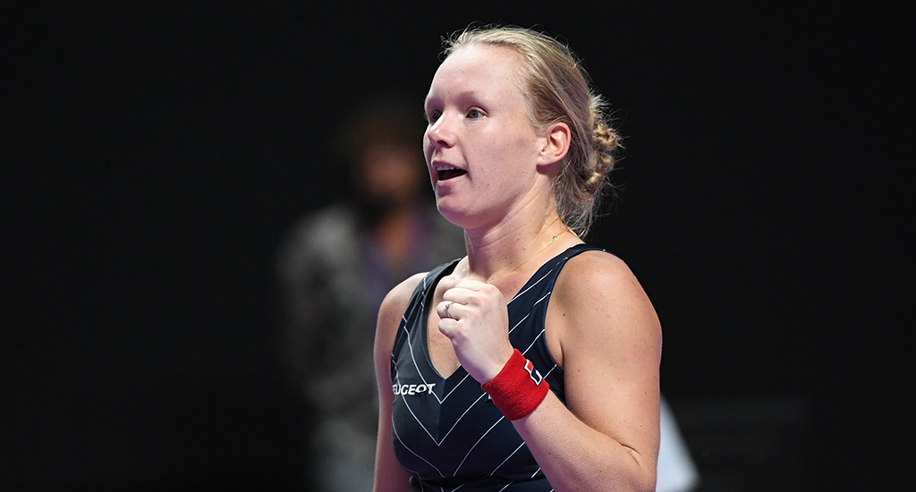 Kiki Bertens at WTA Finals
