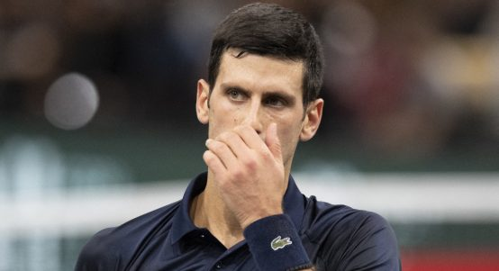 Novak Djokovic feeling under the weather