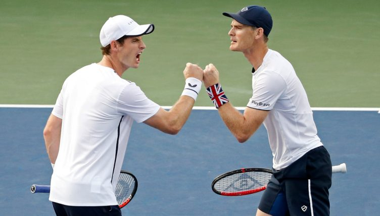 Andy Murray and Jamie Murray