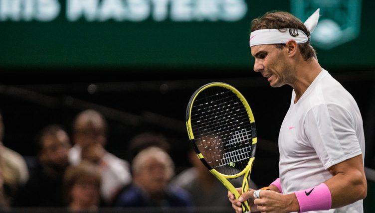 Rafael Nadal at Paris Masters