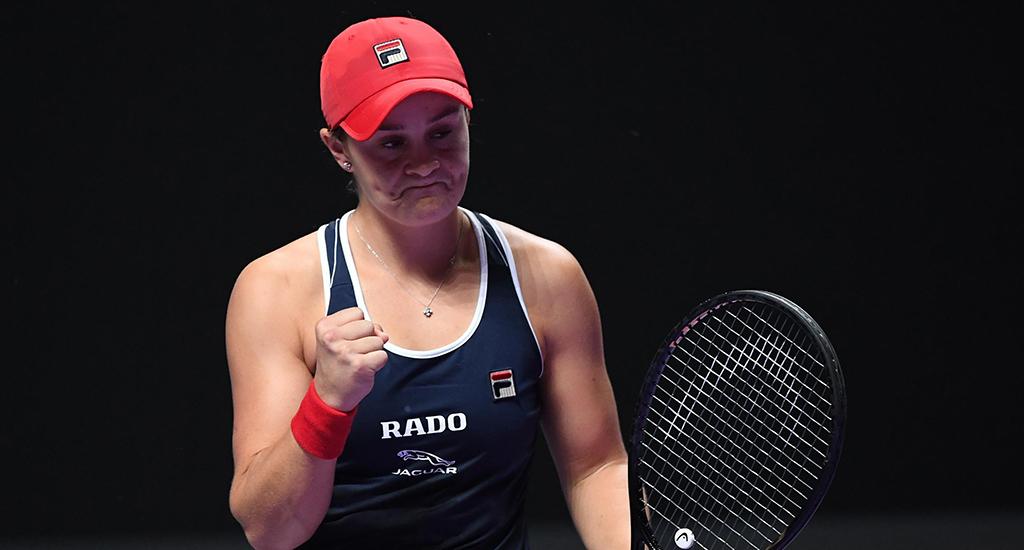 Ashleigh Barty at WTA Finals