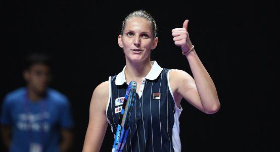 Karolina Pliskova at WTA Finals