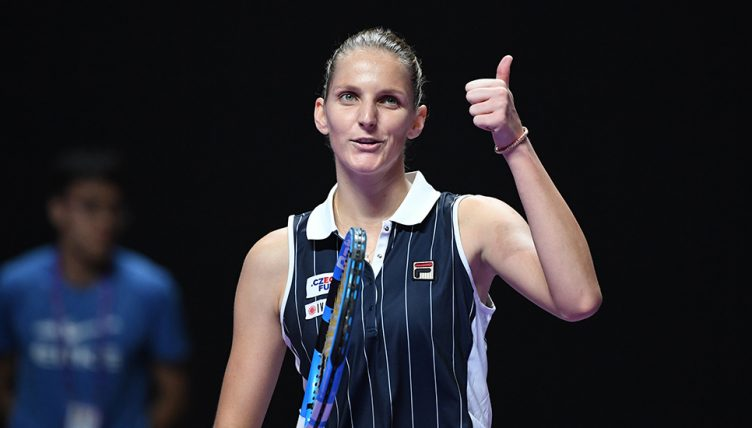 Karolina Pliskova at WTA Finals