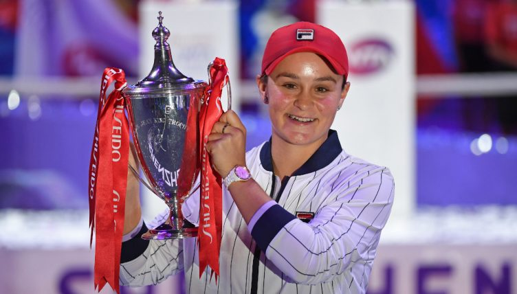 Ashleigh Barty WTA Finals champion