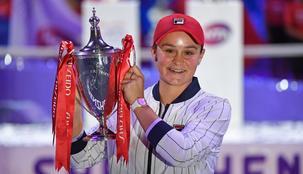 Ashleigh Barty WTA Finals champion