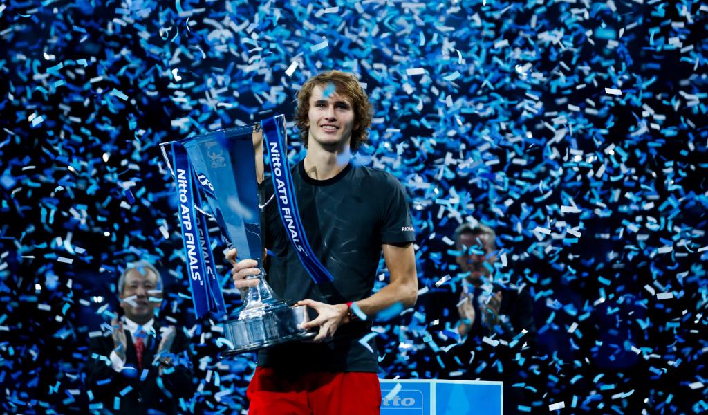 Alexander Zverev ATP Finals champion
