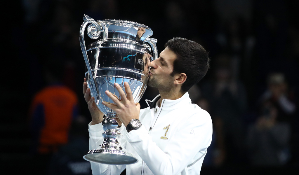 Novak Djokovic the 2018 year-end No 1