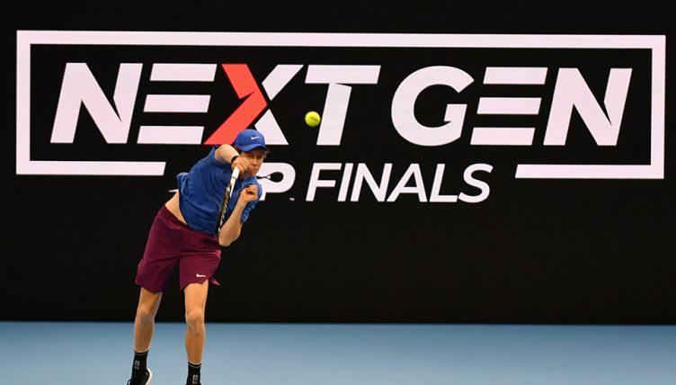 Jannik Sinner at Next Gen Finals