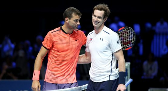 Andy Murray and Grigor Dimitrov