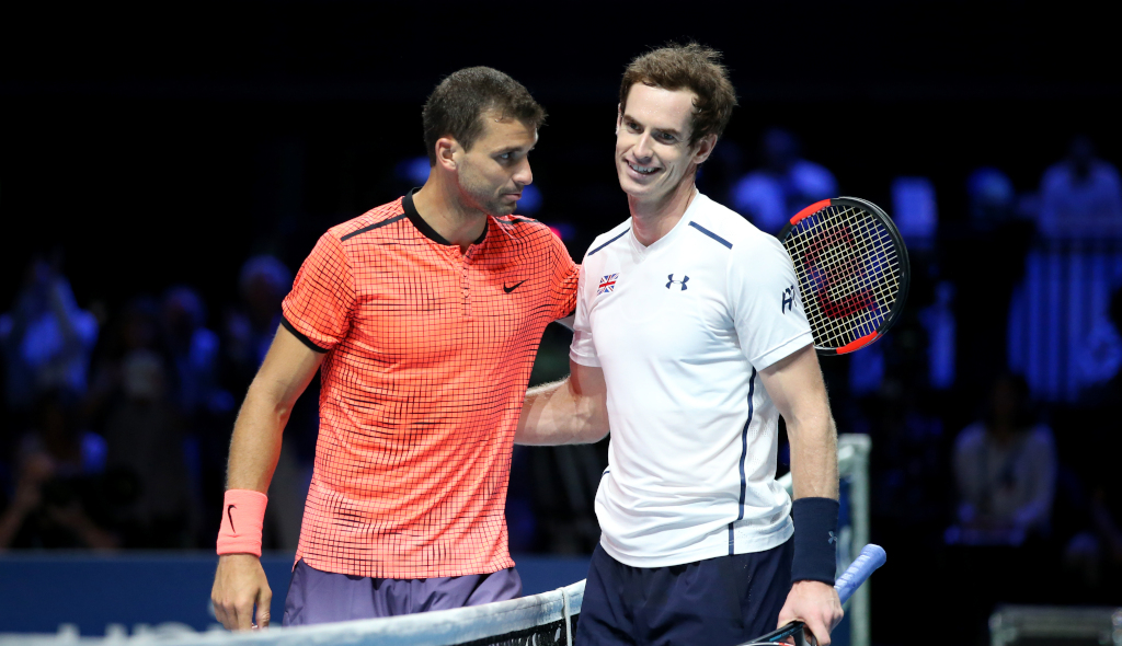 Andy Murray and Grigor Dimitrov