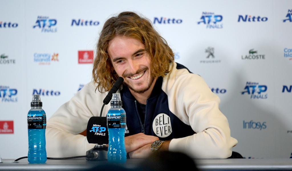 Stefanos Tsitsipas press conference