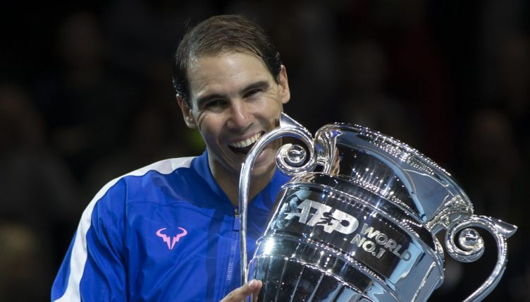 Rafael Nadal 2019 year-end No 1