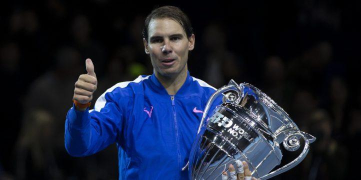 Rafael Nadal 2019 year-end No 1