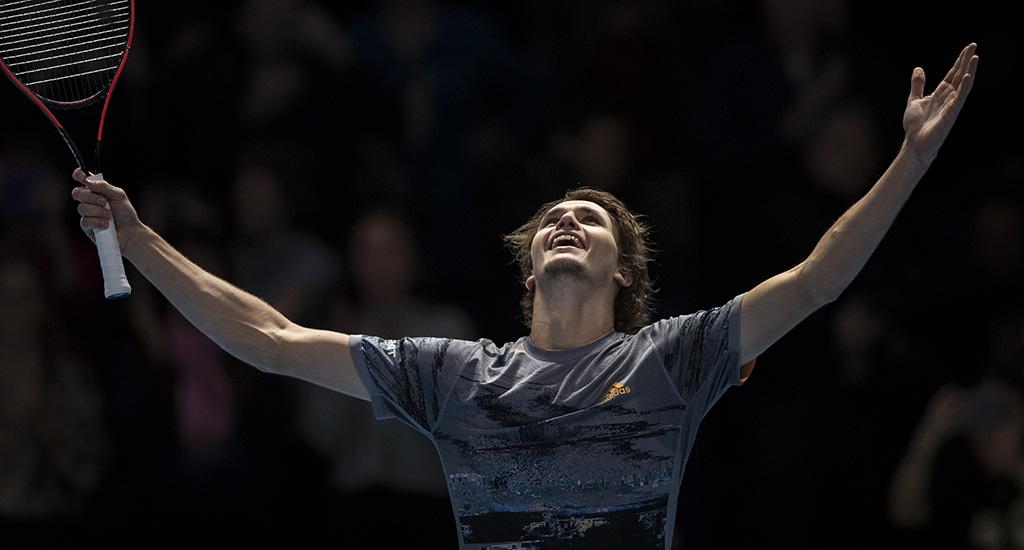 Alexander Zverev at ATP Finals