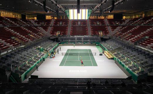 Caja Magica Davis Cup venue