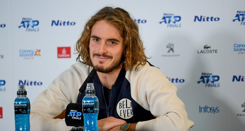 Stefanos Tsitsipas press conference