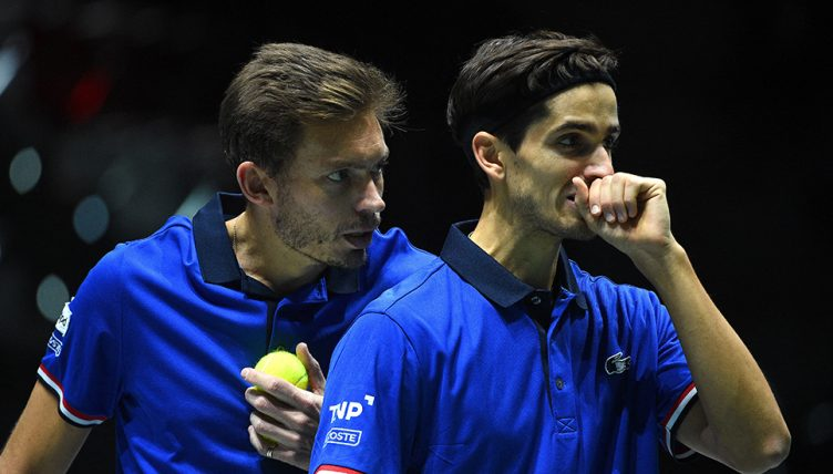 France Davis Cup doubles pair