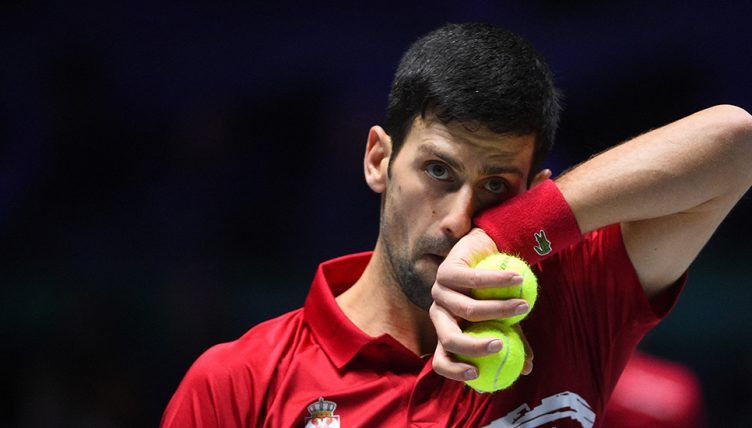 Novak Djokovic Davis Cup disappointment