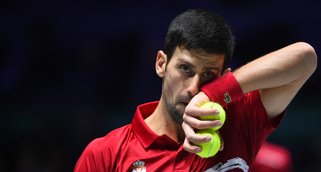 Novak Djokovic Davis Cup disappointment