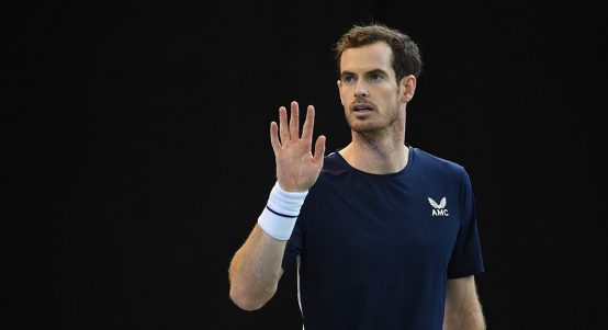Andy Murray at Davis Cup