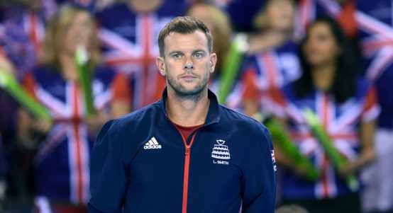 Leon Smith Great Britain Davis Cup captain