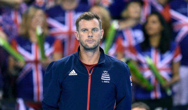 Leon Smith Great Britain Davis Cup captain