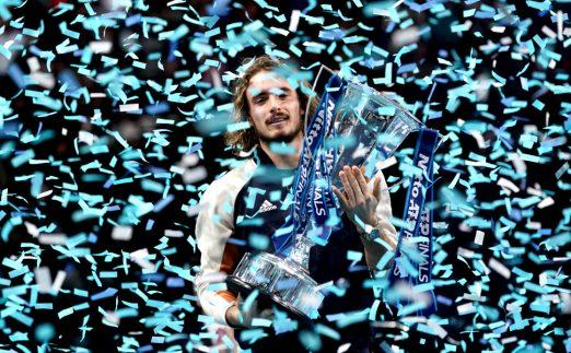 Stefanos Tsitsipas ATP Finals champion