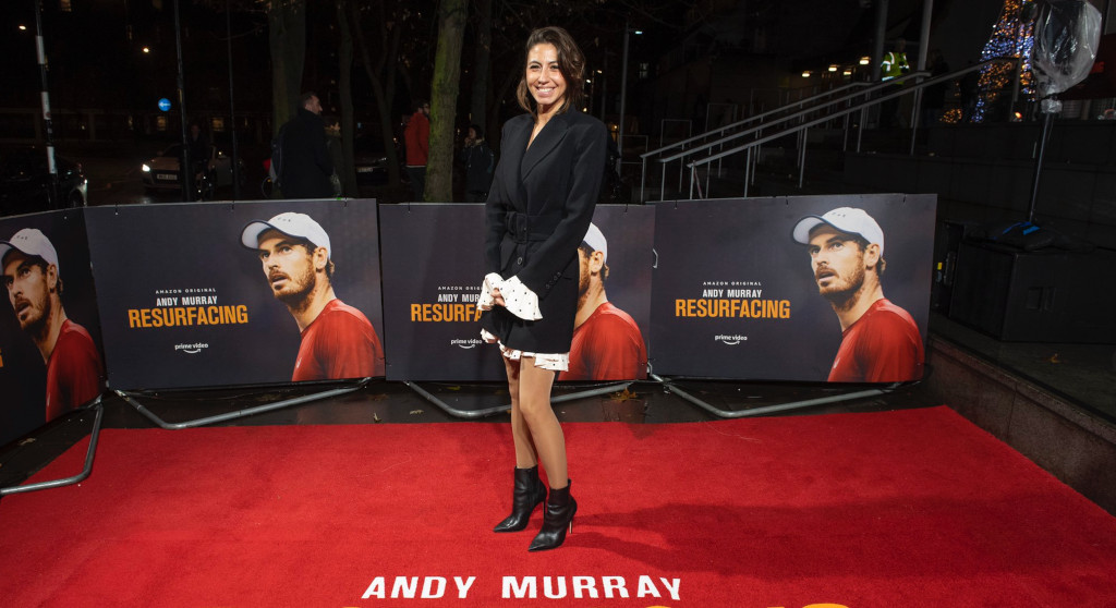 Olivia Cappuccini director Andy Murray: Resurfacing Premiere