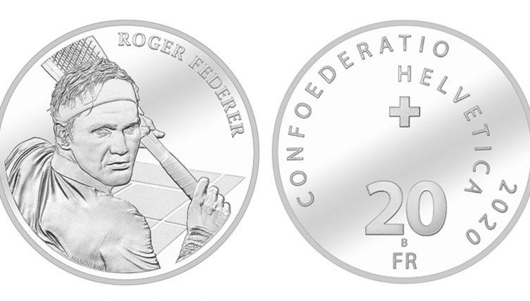 Swissmint Roger Federer coin