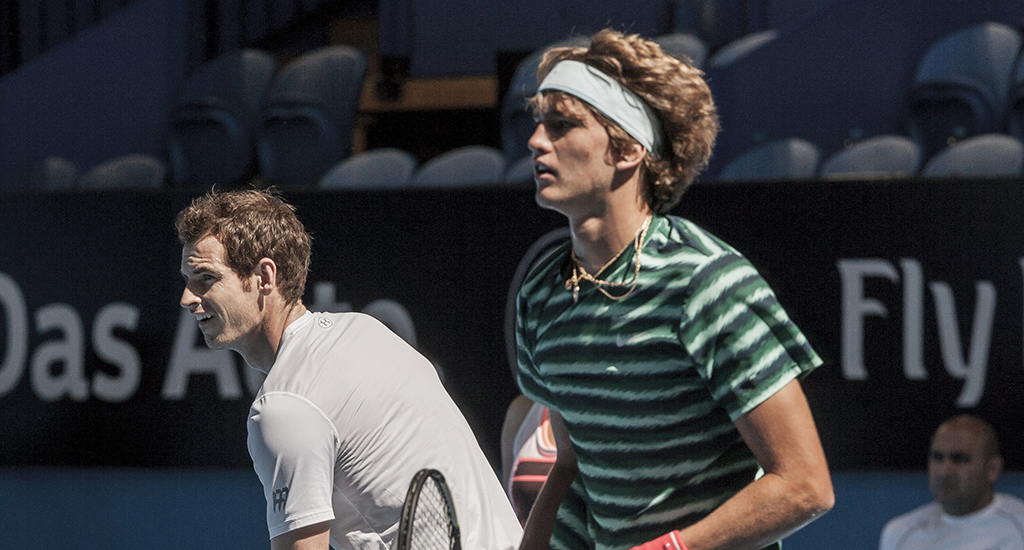 Andy Murray and Alexander Zverev