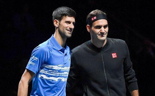 Roger Federer Novak Djokovic ATP Finals