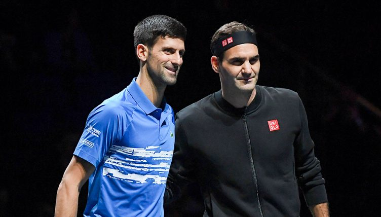 Feature Roger Federer Novak Djokovic And Rafael Nadal What You Don T See On Tv Tennis365 Com
